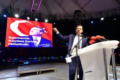 İBB Başkanı Ekrem İmamoğlu, YSK'nın skandal İstanbul kararını, Beylikdüzü'nde on binlerce vatandaşla birlikte protesto etti