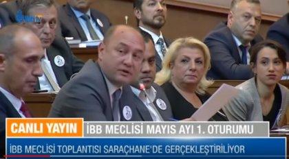 İBB Meclisi'nde 'Kadir Mısıroğlu' tartışması