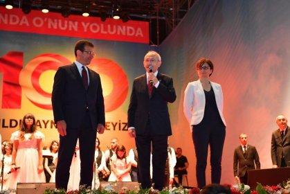 Kılıçdaroğlu ve İmamoğlu Bakırköy'de Bandırma Vapuru'nun Samsun'a yola çıkışının 100'ncü yılı anısına düzenlenen etkinlikte buluştu