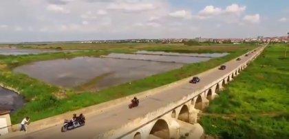 Klasik araçlar, 575 yıllık tarihi Uzunköprü'de buluştu