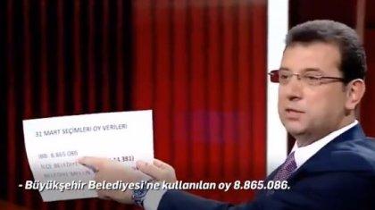 Ekrem İmamoğlu, Binali Yıldırım'ın 'seçmenin tipine bakarak oy pusulası vermediler' iddiasını rakamlarla çürüttü