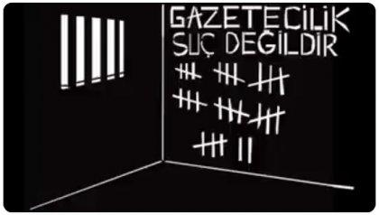 Dışarıdaki Gazetecilerden İçerideki gazetecilere #GazetecilereMektup yaz kampanyası