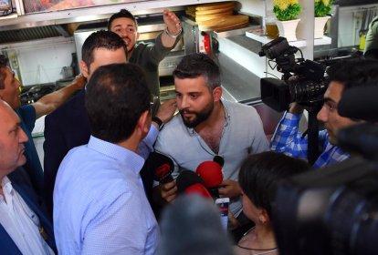 Ekrem İmamoğlu'ndan kendisini 'kumpas videosu' üzerinden suçlayan esnafa: İftira atıyorsun