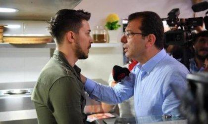 İmamoğlu ile tartışan esnaf AKP'nin reklam filminde oynamış