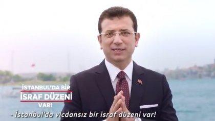 İmamoğlu, İstanbul'da bir israf düzeni var