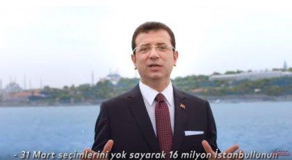 Ekrem İmamoğlu'ndan 23 Haziran çağrısı