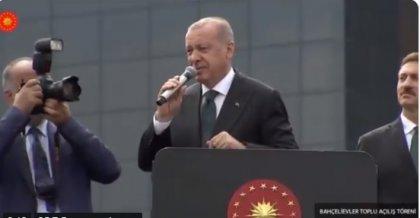AKP Genel Başkanı Recep Tayyip Erdoğan'dan büyük gaf