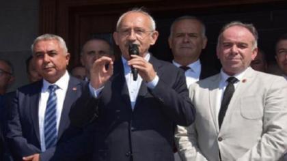 Kılıçdaroğlu'na Aydın'da yumurtalı saldırı