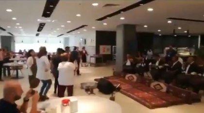 Adana'da şehir hastanesinde 'sıra gecesi' düzenlendi!