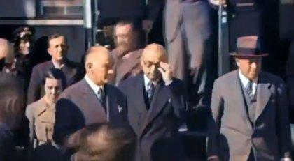 Atatürk ile Bayar'ın birlikte ilk videosu ortaya çıktı