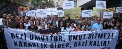 Gezi Davası'nın 8-9 Ekim'deki duruşması için dayanışma çağrısı