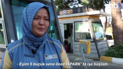 İSPARK'ta kadın personeller çalışmaya başladı