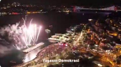 İstanbul, Cumhuriyet Bayramı'nı coşkuyla kutlamaya hazırlanıyor