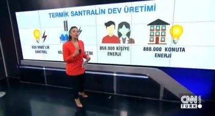 CNN TÜRK'te filtresiz termik santrallere 'maliyet hesabı'yla savunma!
