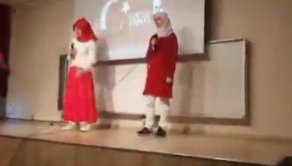 Kırıkkale Ünivertsitesi'nde Arapça İstiklal Marşı okundu