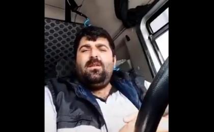 'Zengin değilim çalışmasam ekmek yok, evde nasıl kalayım?' diyen TIR şoförü gözaltına alındı!