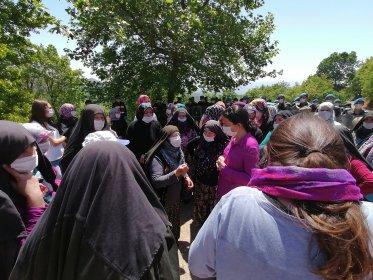 Kirazlıyayla Köyü'nde köylülerin direnişi devam ediyor