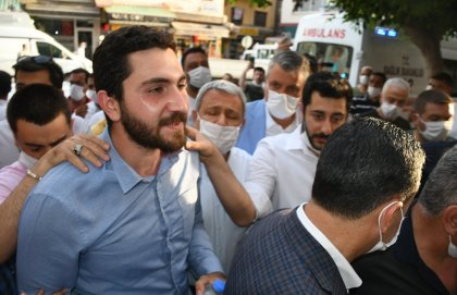 CHP'li Eren Yıldırım'a silah çekildiği anların görüntüsü ortaya çıktı