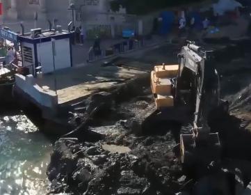 İmamoğlu: Ortaköy'de artık kanalizasyon denize akmayacak, yağmur sonrası taşkın olmayacak