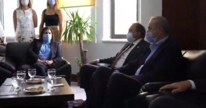 Didim Belediye Başkanı'nı ziyaret eden CHP'li Torun: Asla ranta izin vermeyeceğiz