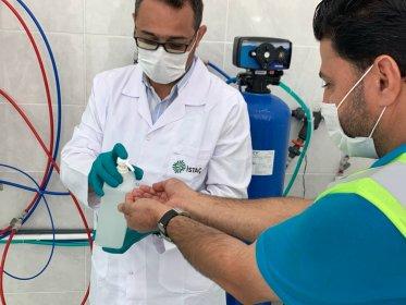 İBB dezenfektan üretimine başladı