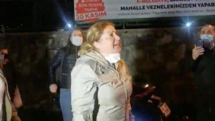 """Bimeks işçisi Dilek Aslan: """"Polisi karşımda değil arkamda görmek istiyorum"""