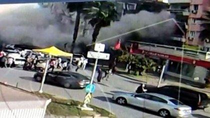 Rıza Bey apartmanının deprem anında yıkılma görüntüleri ortaya çıktı
