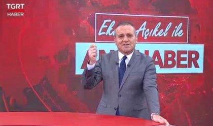 AKP'ye yakınlığıyla bilinen TGRT'de haber sunucusu isyan etti