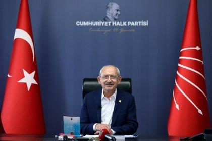 Kılıçdaroğlu 23 Nisan'da çocuklarla bir araya geldi