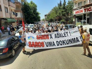 Çevrecilerden 'Saros'uma dokunma' mitingi