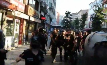 Suruç anmasında polis gazetecilere böyle saldırdı