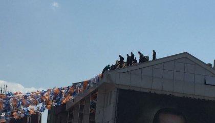 AKP Burrsa İl Başkanlığı'nda intihar girişimi