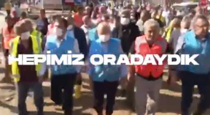 CHP'den afetlerle ilgili 'Nerede itfaiyeleriniz, sel afetinde ne yaptınız' diyen Erdoğan'a videolu yanıt: 'Hepimiz oradaydık, halk biliyor'