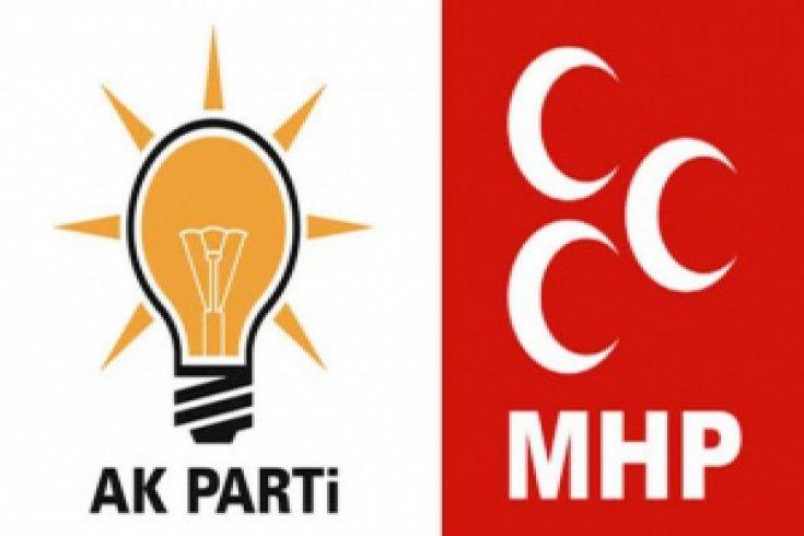 AKP ve MHP'den Anayasa değişikliği açıklaması
