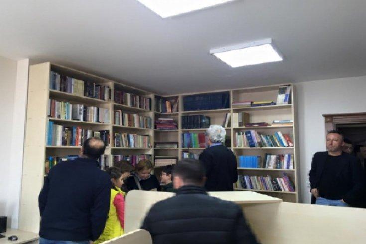 Anadolu Yakası Bosna Sancak Derneği, Kütüphanesini hizmete açtı