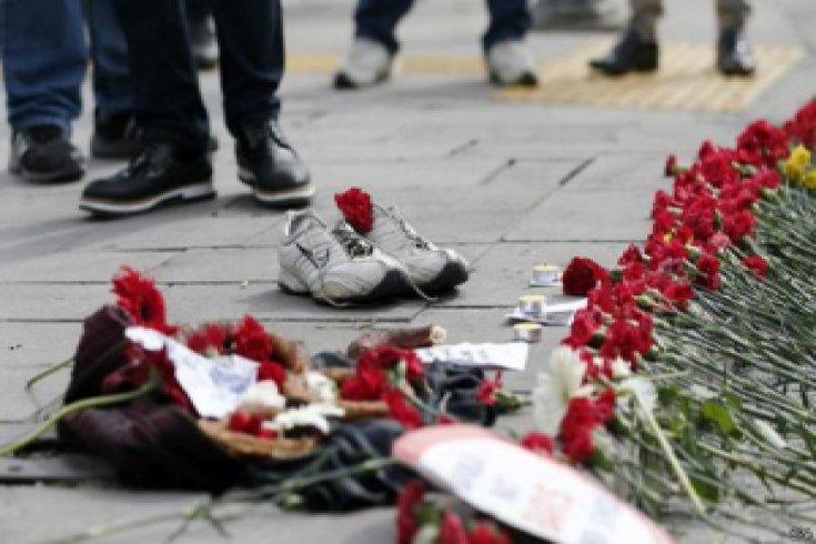 Ankara Katliamı Anıldı