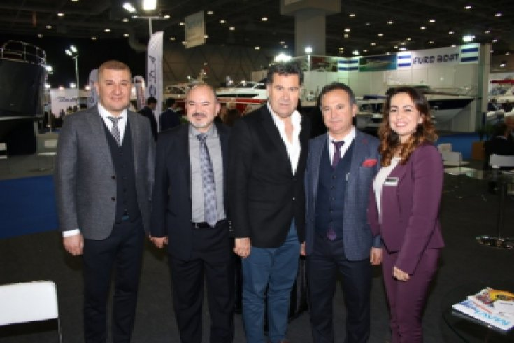Başkan Kocadon 11. Cnr Avrasya Boat Show'a Katıldı