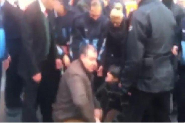Beşiktaş Belediye işçilerine zabıta saldırısı
