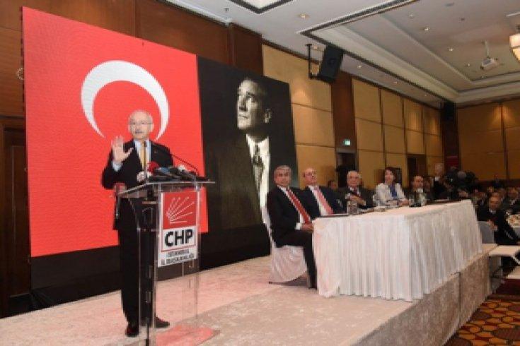 CHP lideri Kemal Kılıçdaroğlu, İstanbul'da Sivaslı STK temsilcileriyle buluştu