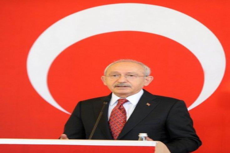 CHP lideri Kemal Kılıçdaroğlu,İzmir'de Tarihi Havagazı fabrikasında