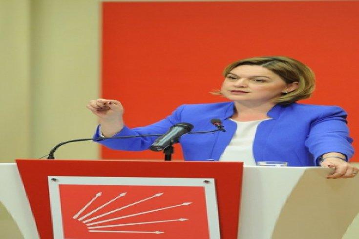 CHP Sözcüsü Selin Sayek Böke Genel Merkezde basın toplantısı düzenledi