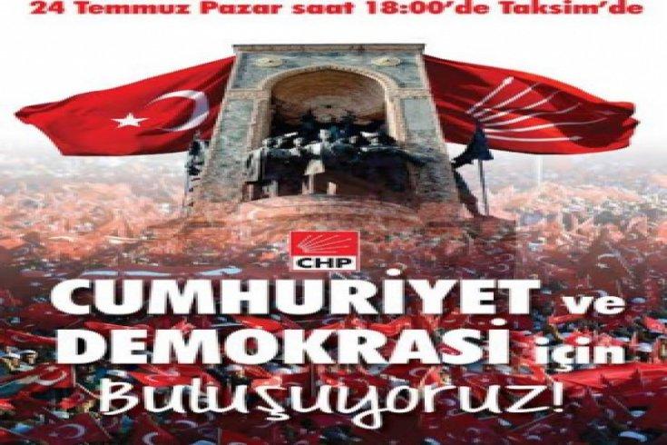 CHP'nin Taksim mitingine kimler katılacak?