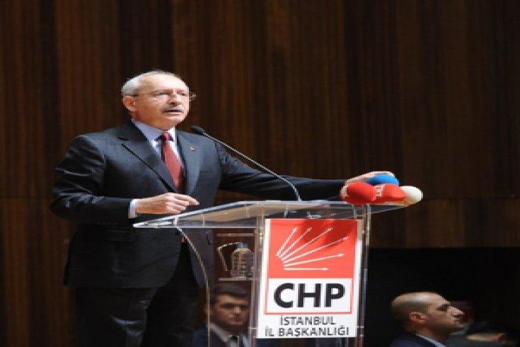 Cumhuriyet Halk Partisi Genel Başkanı Kemal Kılıçdaroğlu, İstanbul İl örgütünün 3. Bölge Toplantısına katıldı.