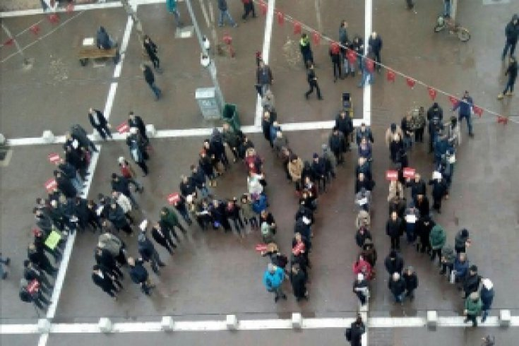 Diktaya karşı 'Ayağa kalkıyoruz' eylemine destek büyüyor