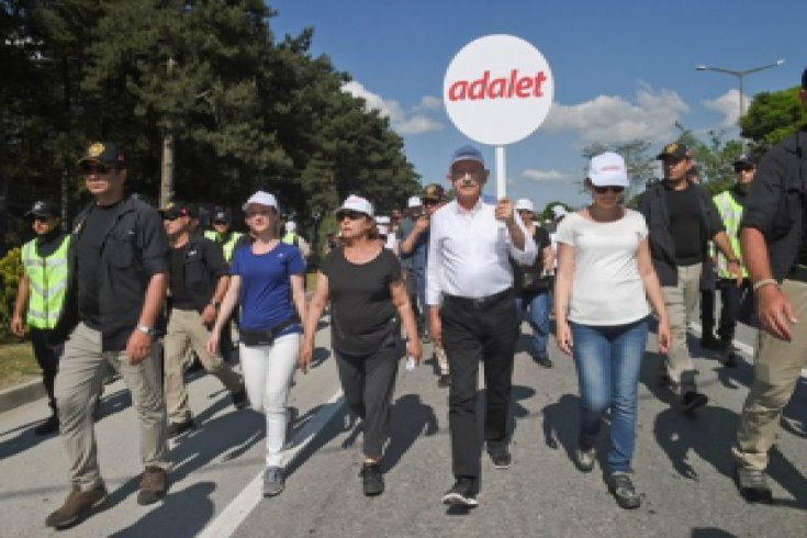Fotoğraflarla Adalet Yürüyüşü'nün 11. günü