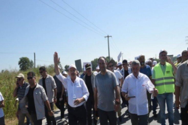 Fotoğraflarla Adalet Yürüyüşü'nün 17. günü