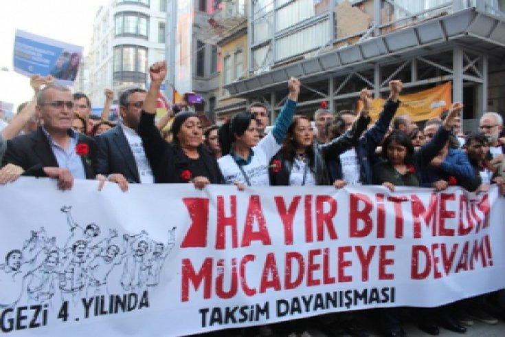 Gezi direnişi 4. yılında / FOTO HABER