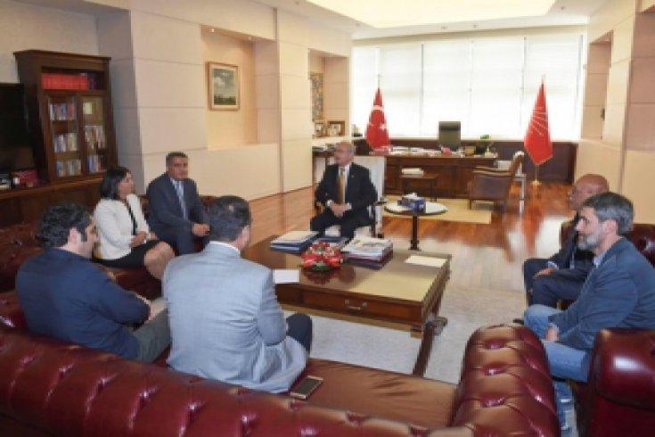 Hacıbektaş Veli Anadolu Kültür Vakfı'ndan Kılıçdaroğlu'na ziyaret