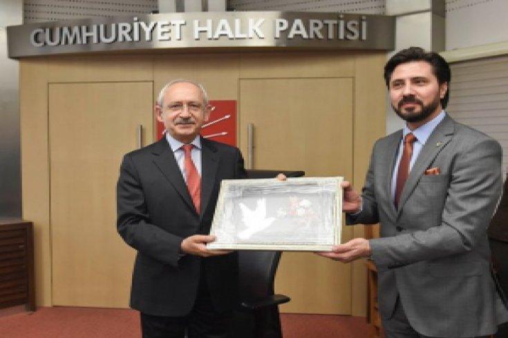 İskeçe Türk Birliği'nden CHP'ye ziyaret
