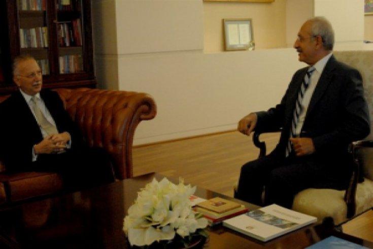 Kılıçdaroğlu, Ekmeleddin İhsanoğlu'nu kabul etti